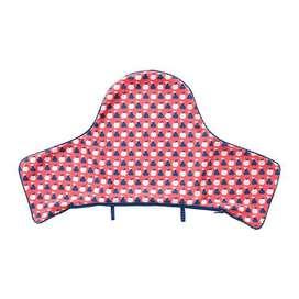 IKEA 106 ANTILOP RED Sarung Bantal Kursi Bayi  biru merah