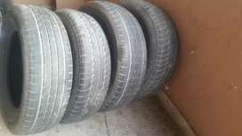 175/R15. 195/15. R15 tubles tyres and shock springs for sale