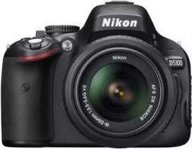 Nikon D5100 with 18-55mm lens