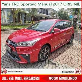Yaris TRD Sportivo Manual 2017 ORISINIL Bisa Kredit