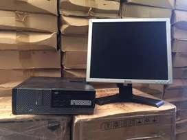 Bradned Used Core I5 4th gen full set desktop ( 4gb ram 320gb hdd 17''