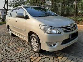 Bayar 150jt aj Innova Bensin 2.0 GLuxury AT 2013 Full Ori #DOMINO AUTO