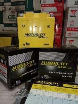 Aki Motobatt gel MTz6s Honda Vario 125/150