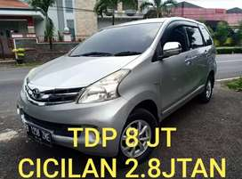 Toyota New Avanza G 1.3 AT 2013 sdh doubel airbag dp8jt angsrn 2.8jtan