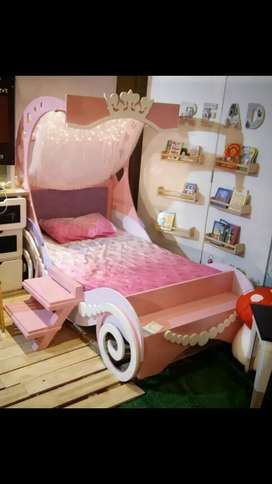 Princess Bed for girls 4 to 14 years