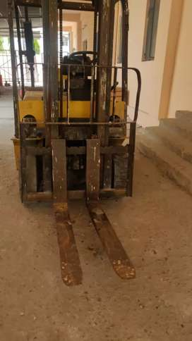 Fork Lift Used In A Factory..