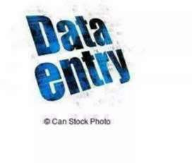 Data entry work urgent need of candidate