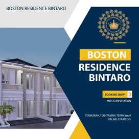 Rumah Bintaro Mewah 1000% Anti Banjir , Boston Residence Bintaro