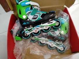 Sepatu roda rollerblade+ helm sarung tgn (nego)