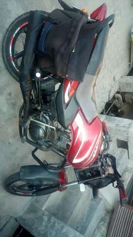 Urjent sale tvs sport MAY 2013 model second owner