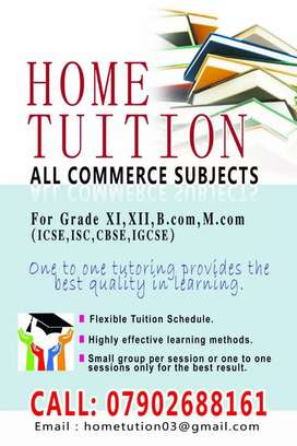 Online Tuition- All Commerce subjects