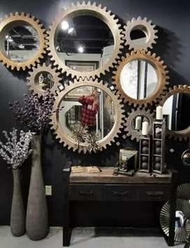 8 fram with  mirror