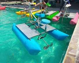 sepeda air gowes bebek perahu fiber AF odong