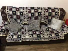 1+1 , 3seater soffa