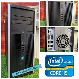 HP i5 CPU/4GB RAM/500GB HDD/ 1 YEAR FULL WARRANTY/ HEAVY CPU