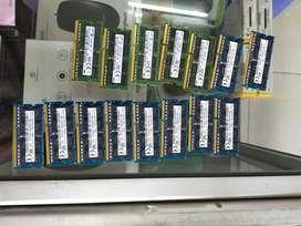 Ram laptop DDR3 8GB garansi 6bulan