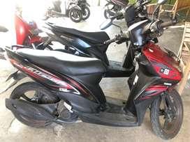 Mio GT 2014 merah hitam
