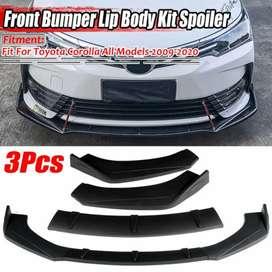 Yaris front bumper splitter /lip
