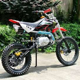125cc Motocross bike dirt bike pit bike petrol engine