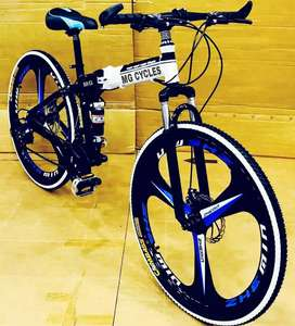 NEW 3 MAC WHEEL 21 GEARS  FOLDING CYCLE AVAILABLE