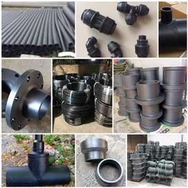Jual fitting pipa hdpe, stub end, reducer, tee, elbow