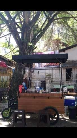gerobak modis ( kopi, thai tea, dan jualan lainnya) harga bisa nego
