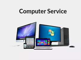 All types of laptop desktop printer sales and service