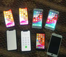 iPhone X Xr 8 8 plus 7 plus iCloud Bypas hai also LCD Panel available