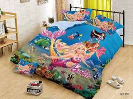 Kids Cartoon character Bedsheet