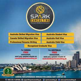 Immigrate to Australia or Canada with FAMILY by SPARK Consulting