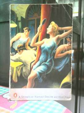 Novel A Streetcar Named Desire and other plays , ( Tenesse Williams )