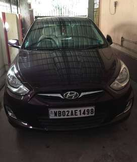 Hyundai Verna diesel October 2013 model excellent condition for sale
