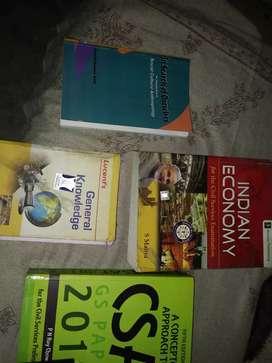 Upsc economy and csat book