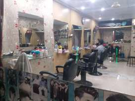 beauty saloon and hair cutting styles