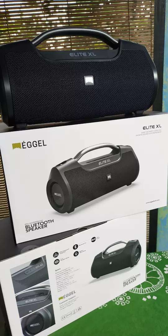 Speaker bluetooth monster Eggel Elite XL Solo dijamin bass mantab