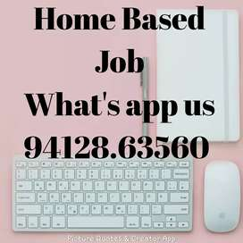 Home based job available