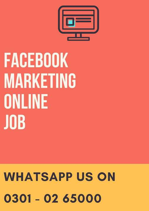 Fraud less offer students, unemployed online Facebook Marketing job