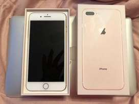 Apple iphone 8 plus 258gb gold