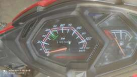 Excellent condition red and gray color honda dio