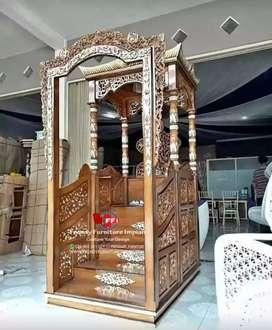 Mimbar masjid tingkat