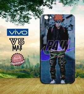 Dijual Custom Case 3D HP Vivo V5 Max motif Anime Naruto Shipunden