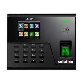 Mesin Absensi Solution X107 Fingerprint Wifi  bisa access door