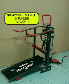 Treadmill Manual 6 Fungsi TL-004 Anti Gores