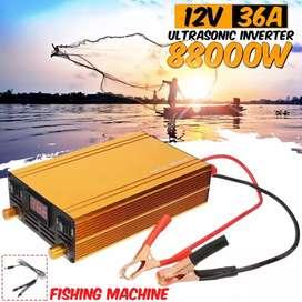 88000W 36A12V Ultrasonic Inverter Strong Power Electro Fishing Machine