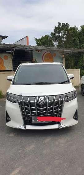 Toyota alphard G ATPM 2019 km 13 rb istimewa pemakai