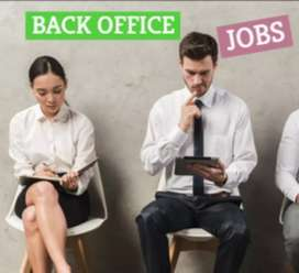 Required back office executive,data entry operator &computer operator