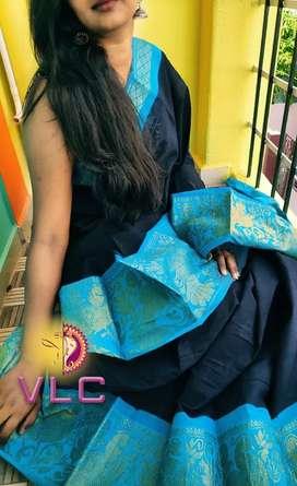 Madurai sungidi cotton Saree