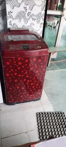 Samsung 6.5 kg top load old washing machine less used working conditio