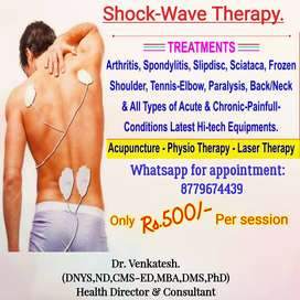 Acupressure shock wave therapy