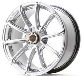 velg hsr wheel mustang ring 18 inc pcd 5x114 bisa utk di brv,innova
